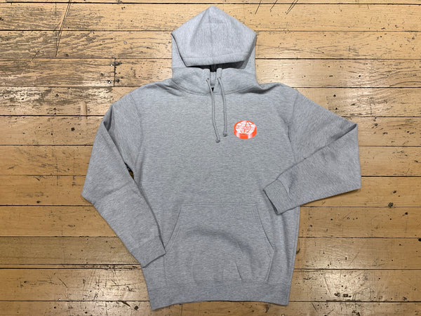 Disk Worldwide Logo Pullover - Heather Grey