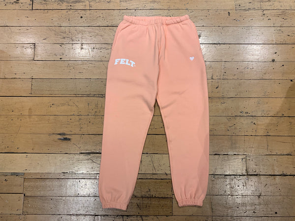 Warm Up Sweat Pant - Pink
