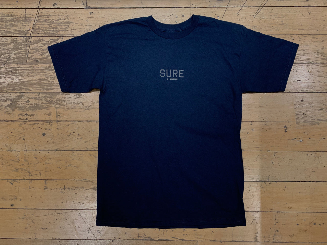 Underscore T-Shirt - Navy