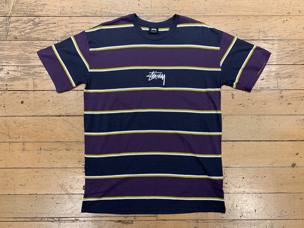 Dare YD Stripe SS T-Shirt - Blue Nights
