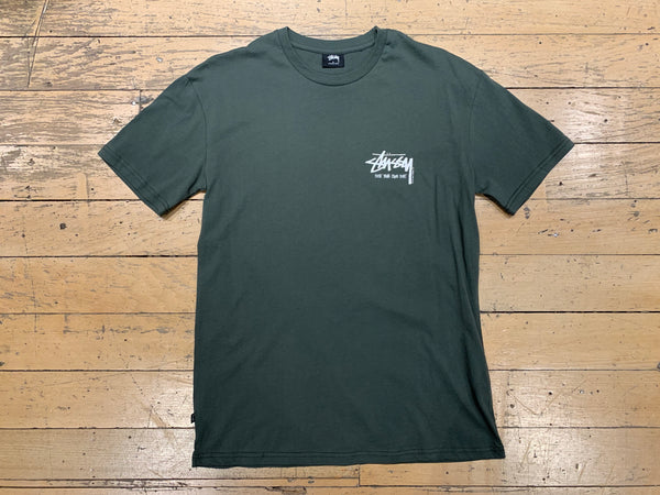 Bust Your Own Beat SS T-Shirt - Flight Green