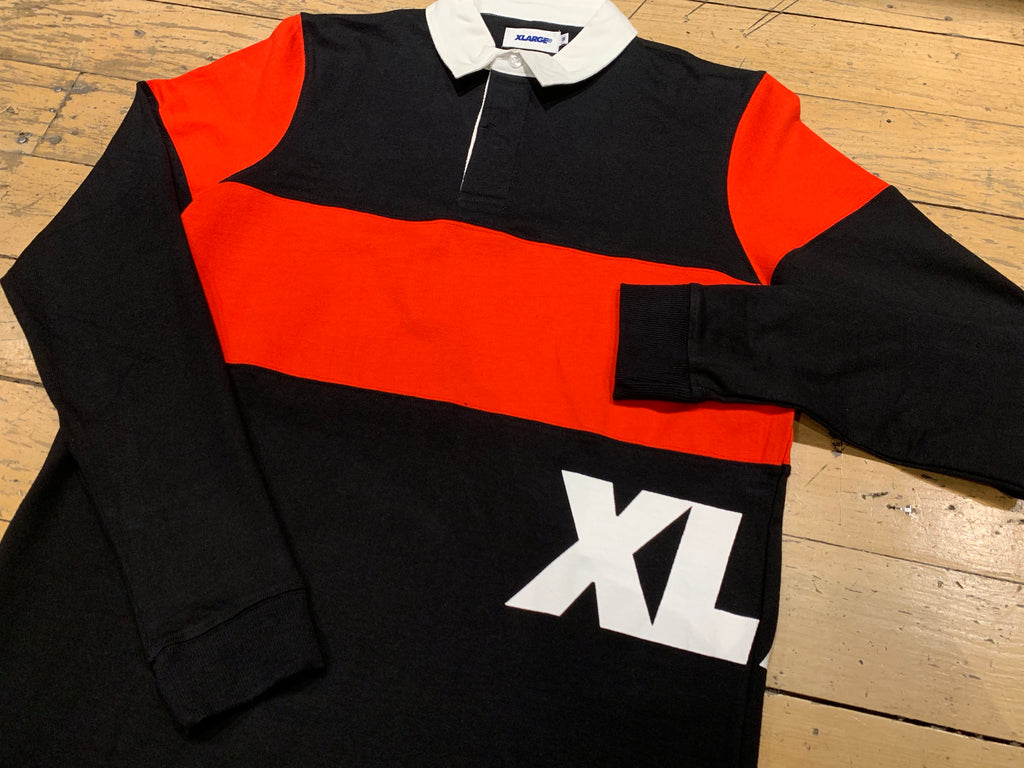 Rugby Shirt - Pirate Black
