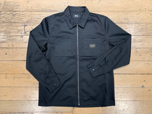 Workwear Zip Jacket - Black