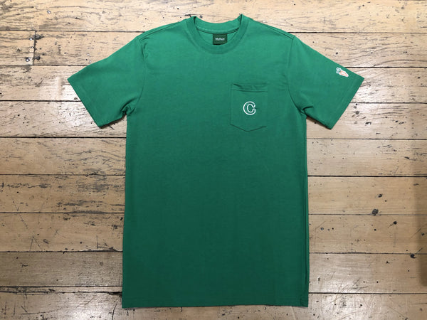 C Patch Pocket T-Shirt - Kelly Green