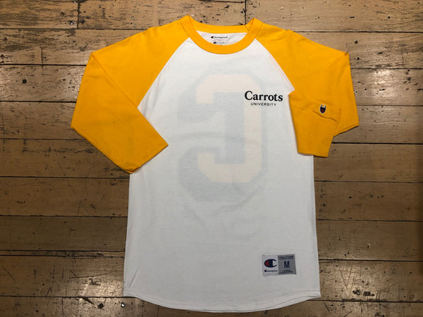 Carrots Univeristy Big C Raglan - Gold