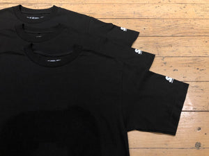 SM Mini Logo Sleeve T-Shirt (3pk) - Black