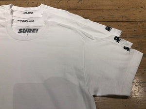 SM Mini Logo Sleeve T-Shirt (3pk) - White