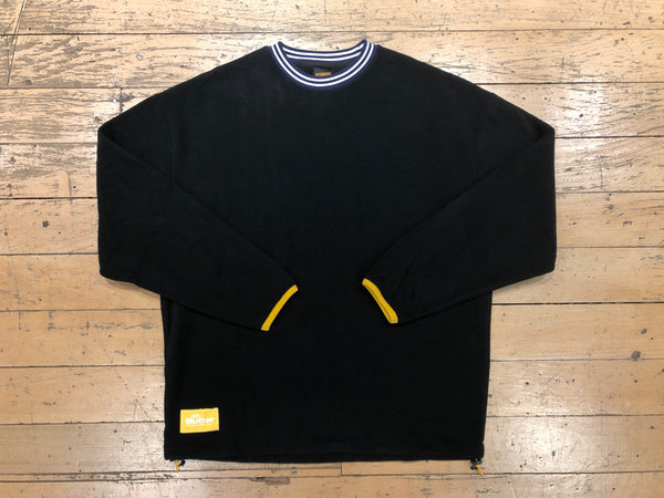Woodland Polar Fleece Crewneck - Black