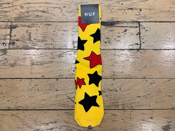 Bode Cheech Wizard Socks - Yellow