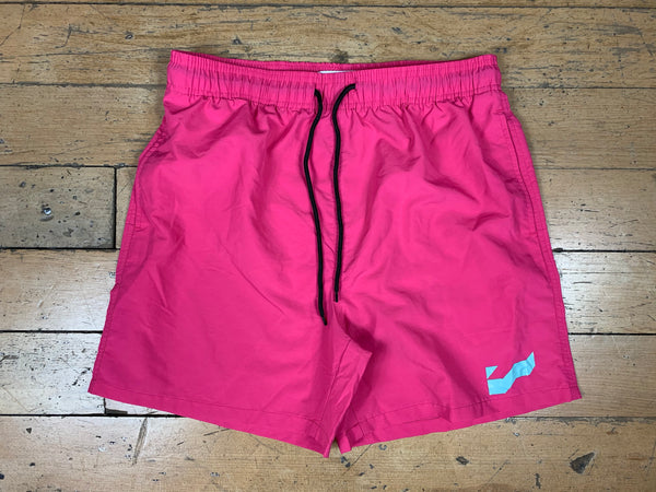 Logo Shorts - Hot Pink