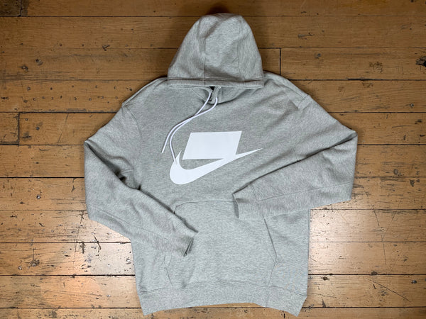 Nike Sportswear French Terry Hood - Heather Grey