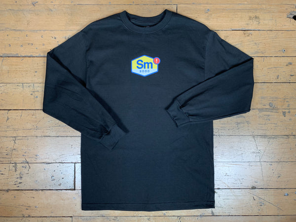 Tuned Longsleeve T-Shirt - Black