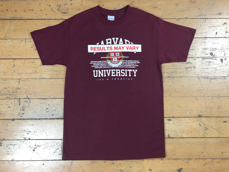 Drop Out T-Shirt - Burgundy