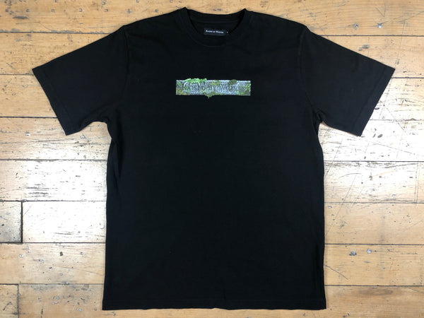 Stone Logo T-Shirt - Black