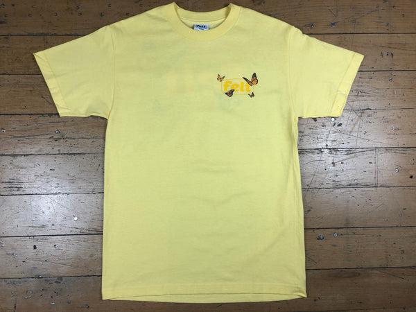 Butterfly Work T-Shirt - Butter