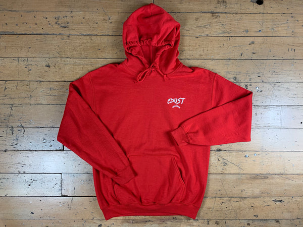 CDUST Records Hood - Red