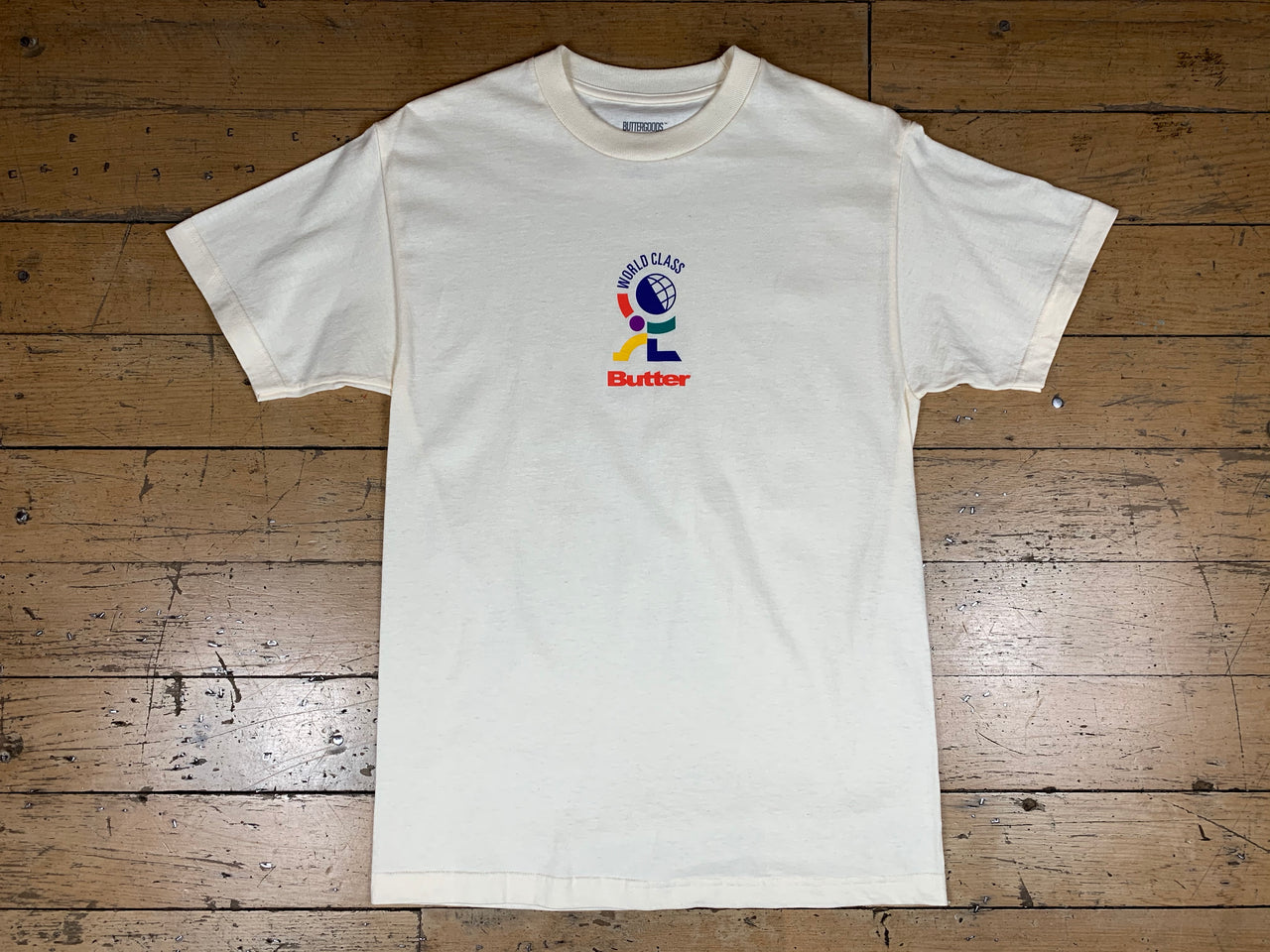 World Class T-Shirt - Cream