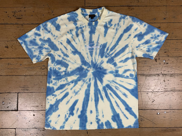 Badge Tie Dye T-Shirt - Sun/Sky