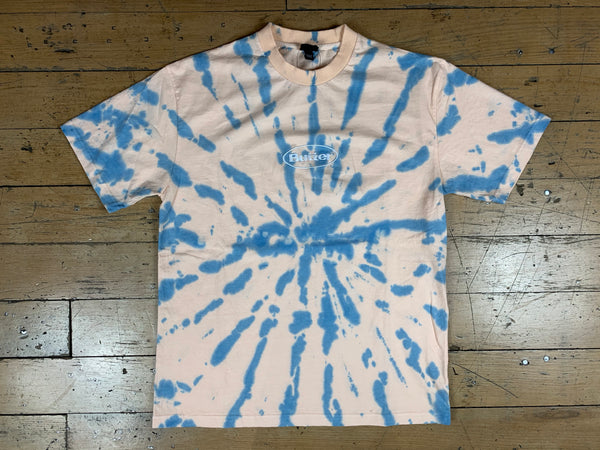 Badge Tie Dye T-Shirt - Peach Stone
