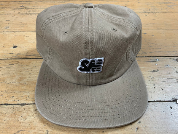 SM 6 Panel Cap - Brown