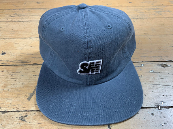 SM 6 Panel Cap - Petrol Blue