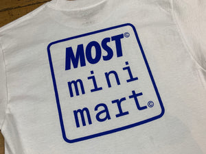 Mini Mart Logo T-Shirt - White