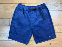 Cord Shorts - Dusty Blue