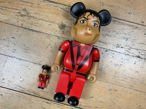 BE@RBRICK Michael Jackson Thriller 400% + 100%