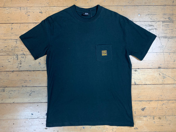 Classic Workwear Pocket Tee - Black