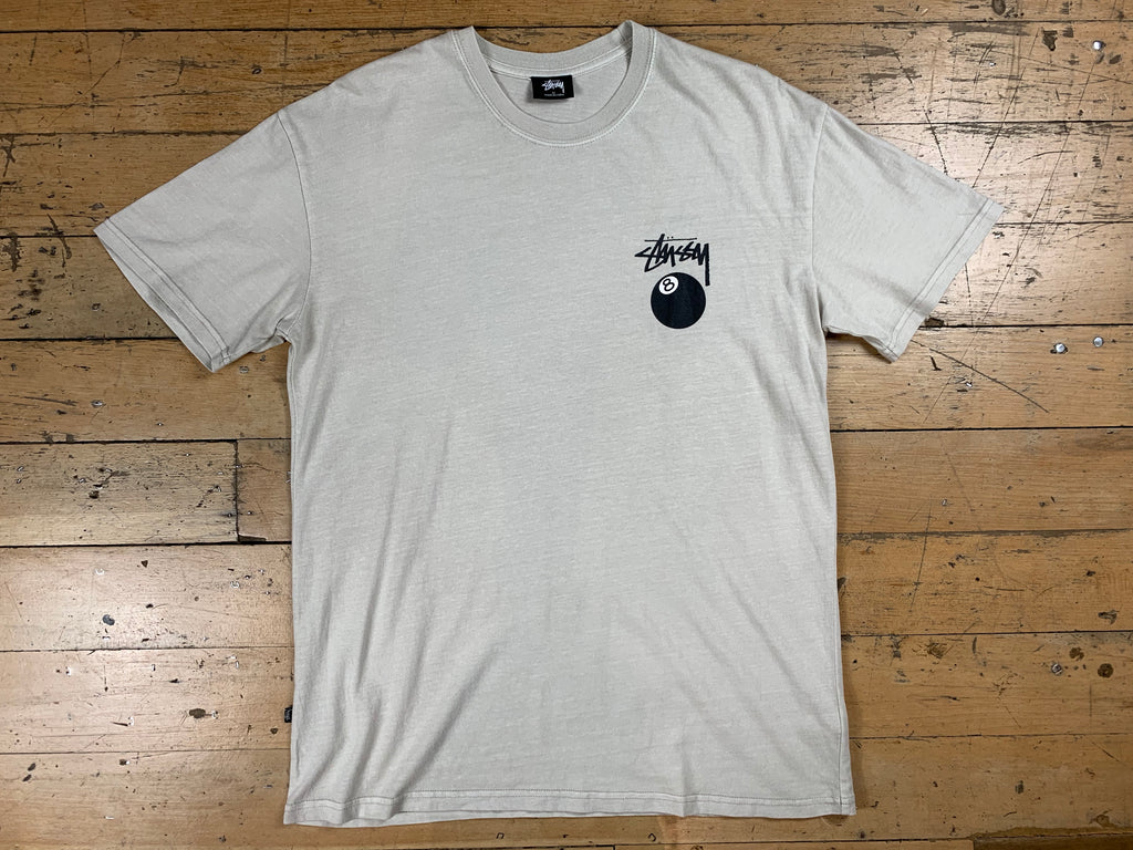 8 Ball SS T-Shirt - White Sand