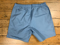 SM Logo Beach Short - Light Blue