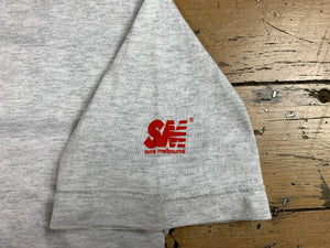 SM Mini Logo Sleeve T-Shirt - Ash