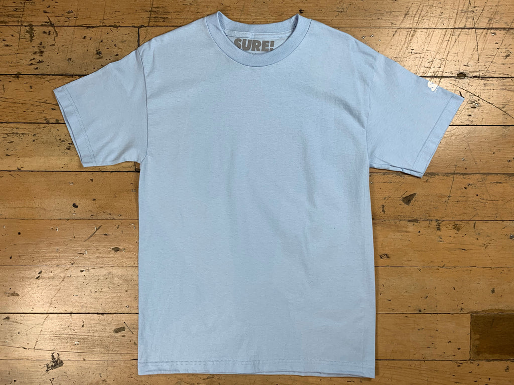 SM Mini Logo Sleeve T-Shirt - Powder Blue