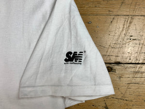 SM Mini Logo Sleeve T-Shirt - White