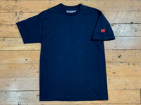 SM Mini Logo Sleeve T-Shirt - Navy