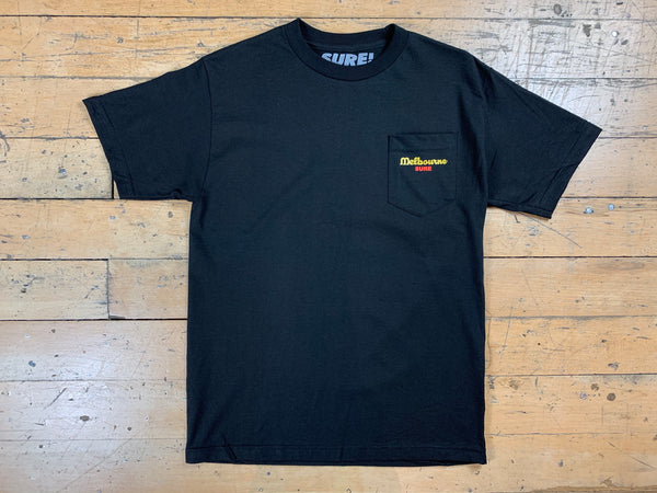 Anyone Pocket T-Shirt - Black