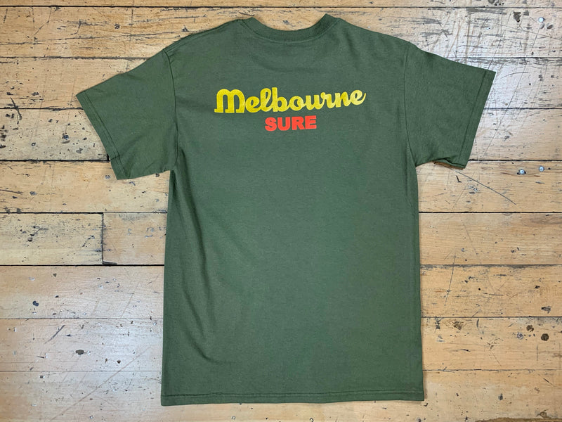Anyone Pocket T-Shirt - Military Green