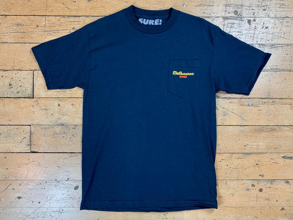 Anyone Pocket T-Shirt - Navy