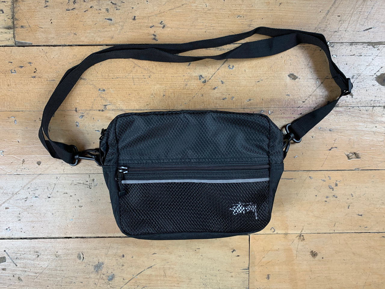Stock Ripstop Shoulder Bag - Black
