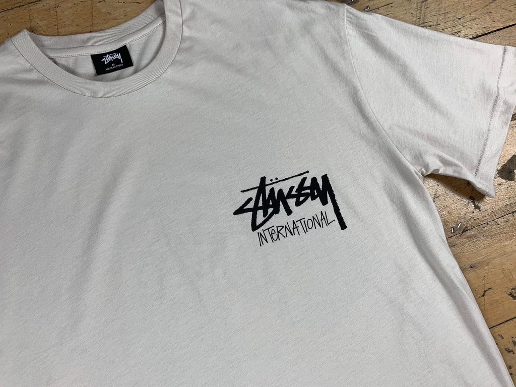 Stock International T-Shirt - White Sand