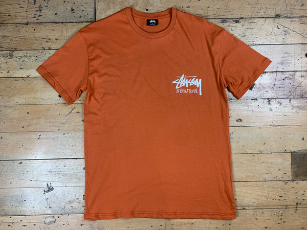 Stock International T-Shirt - Rust