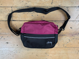 Stock Ripstop Shoulder Bag - Plum
