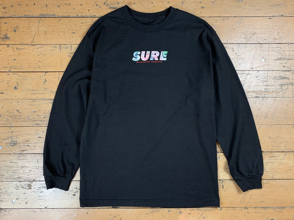 Romance LS T-Shirt - Black