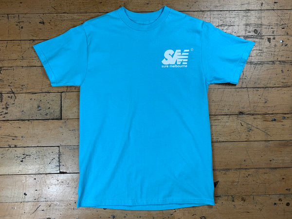 SM Logo T-Shirt - Light Blue
