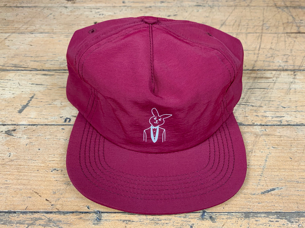 GW x Playboy Mr Bunny Cap - Burgundy