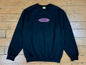 (AND(-) Crewneck - Black