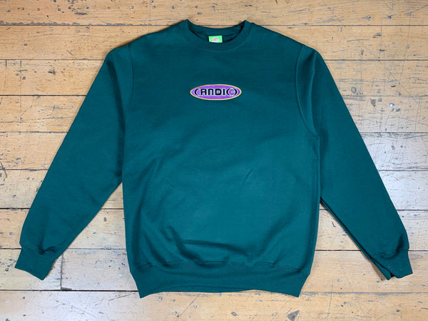 (AND(-) Crewneck - Forest Green