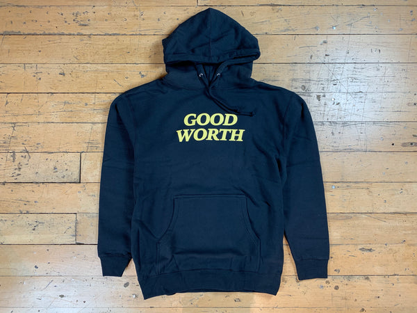 Good Worth Logo Hood - Navy