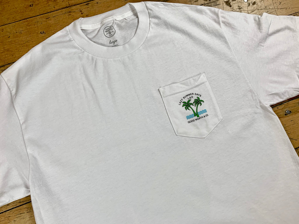 LSD Pocket T-Shirt - White