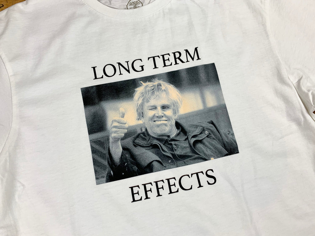 Long Term Effects T-Shirt - White
